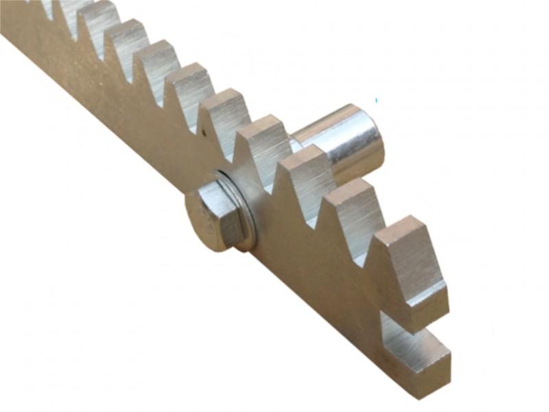 Listwa zębata stalowa 8mm z zamkiem